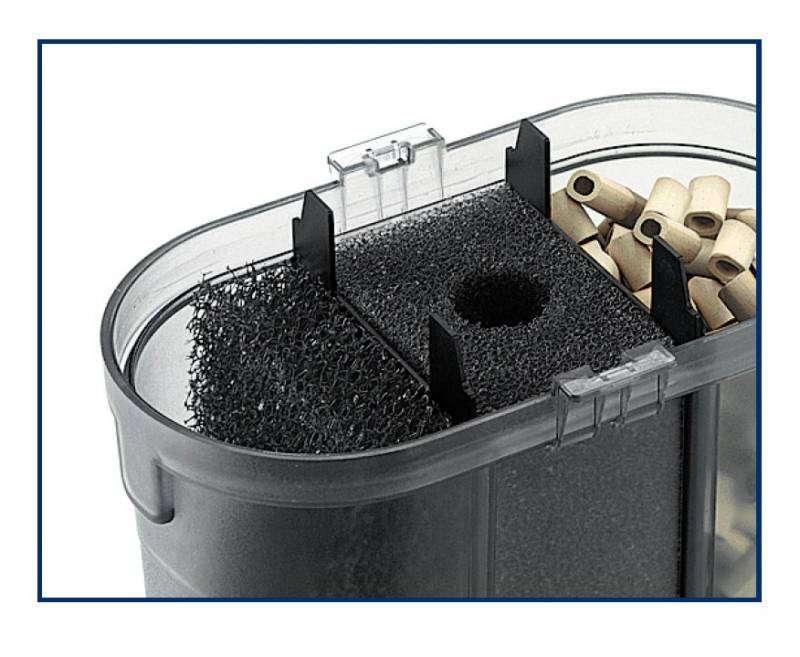 Filtro esterno eden 511 acquario dolce marino acqua terrario for Acquario con filtro esterno