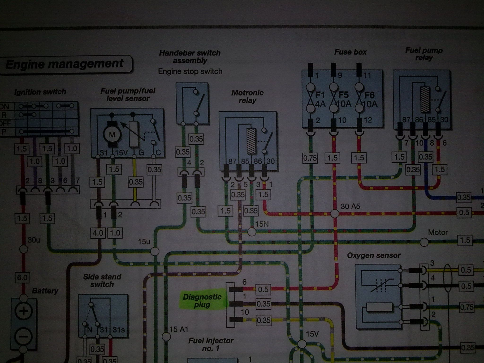 1150 Gs Wont Start Possible Fuel Pump Archive Ukgser R Electrical Circuit Diagrams