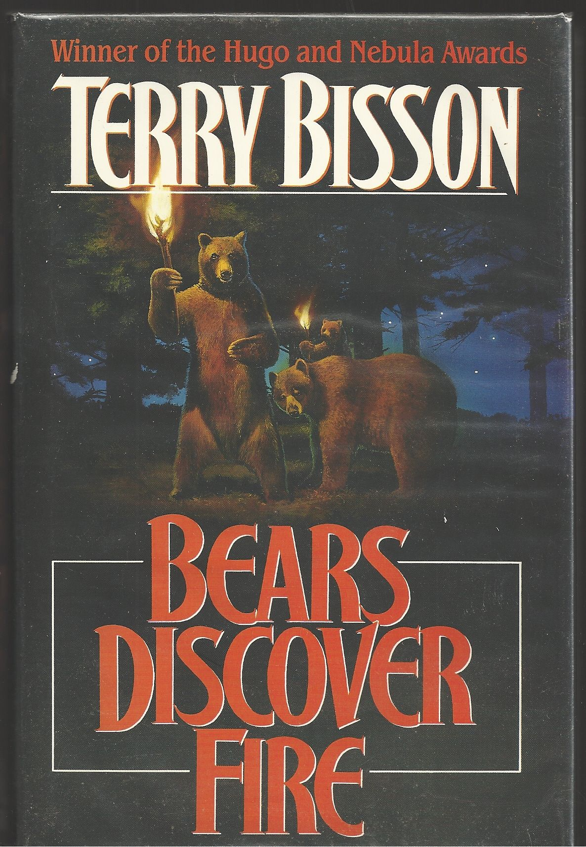 Bears Discover Fire and Other Stories, Bisson, Terry