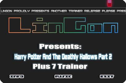Harry potter and the deathly hallows part 2 v1 0 7 trainer