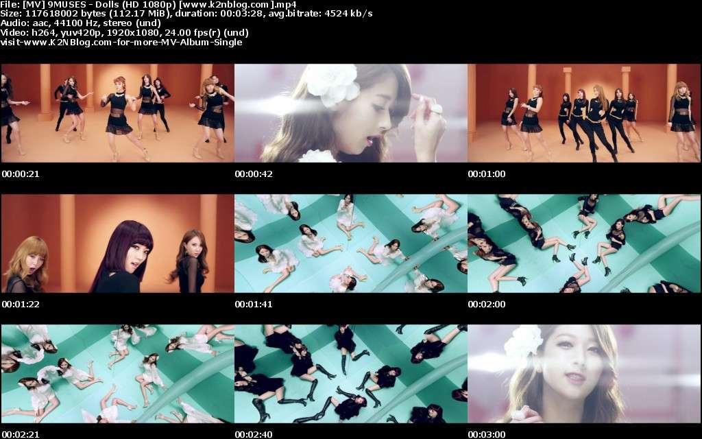 [MV] 9MUSES - Bonecos (HD 1080p Youtube)