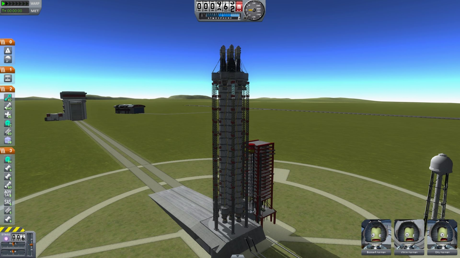 how to build rockets in kerbal space program
