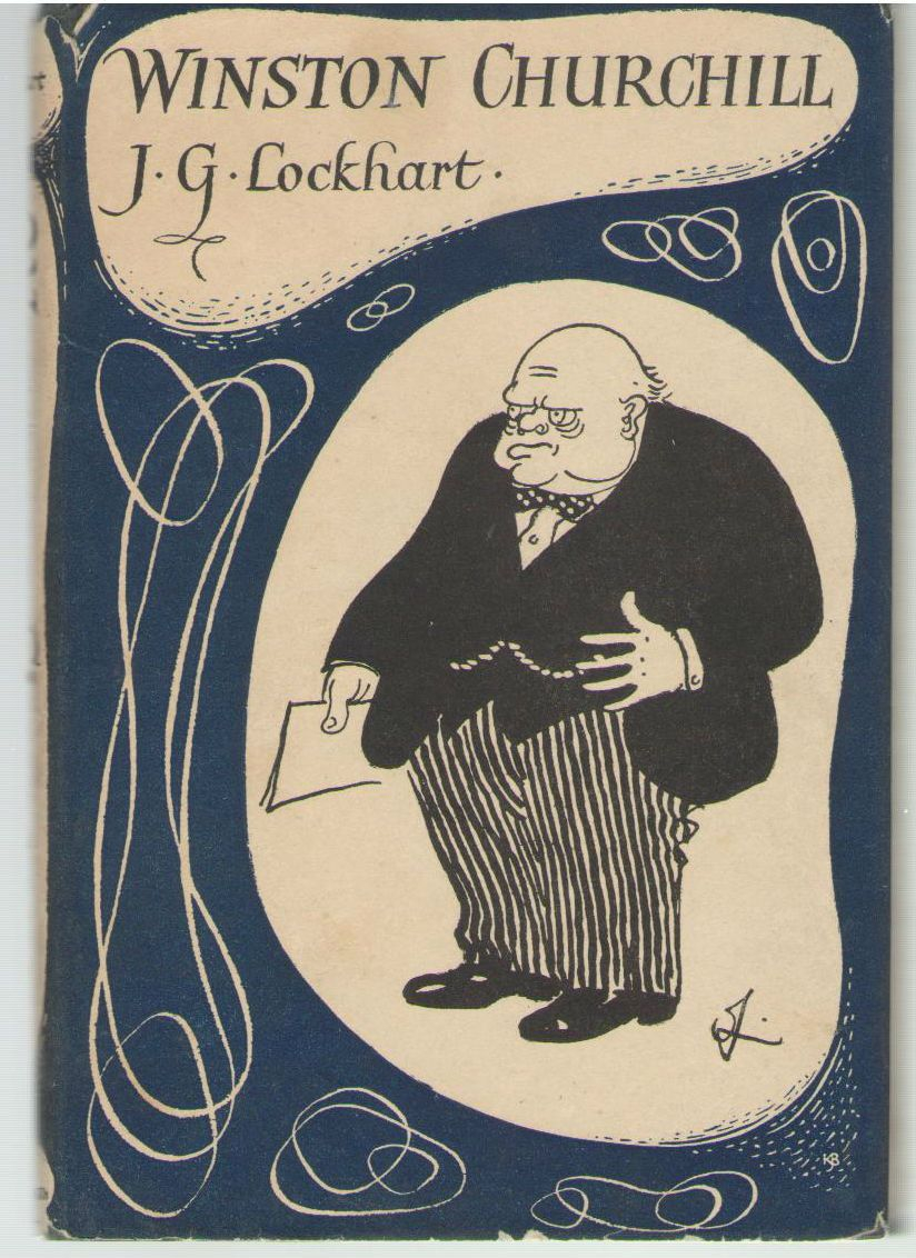 Winston Churchill / by J. G. Lockhart, Lockhart, John Gilbert (1891-1960)