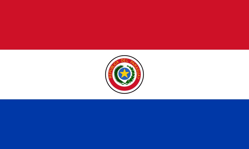 Bandeira do Paraguai