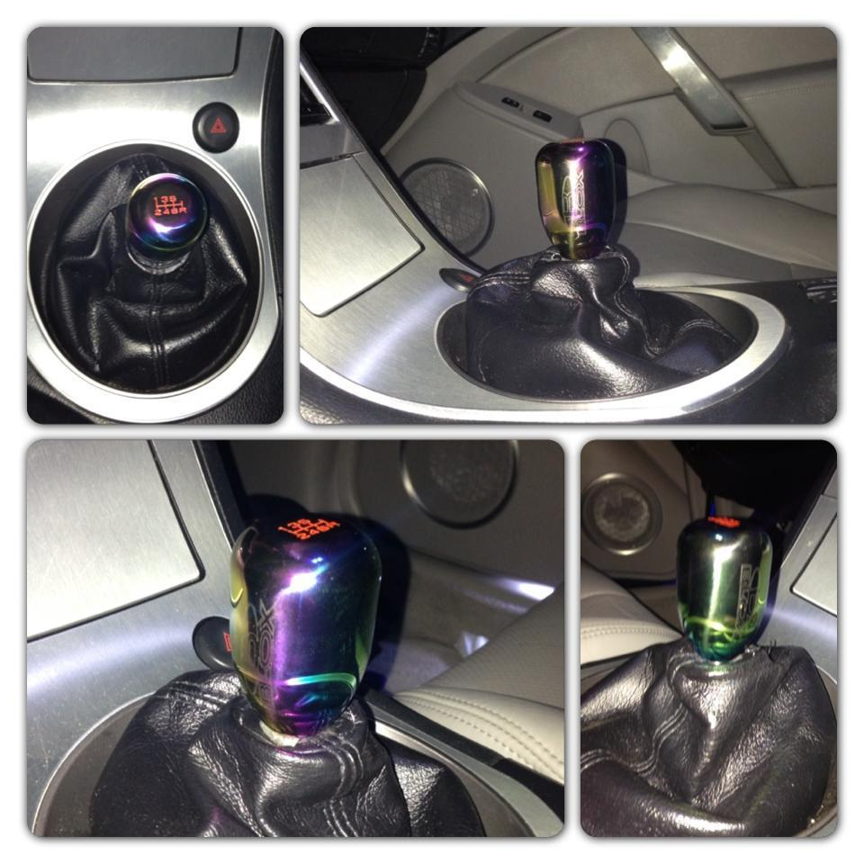MXP Titanium (weighted) Shift Knob in Stock - G35Driver ...