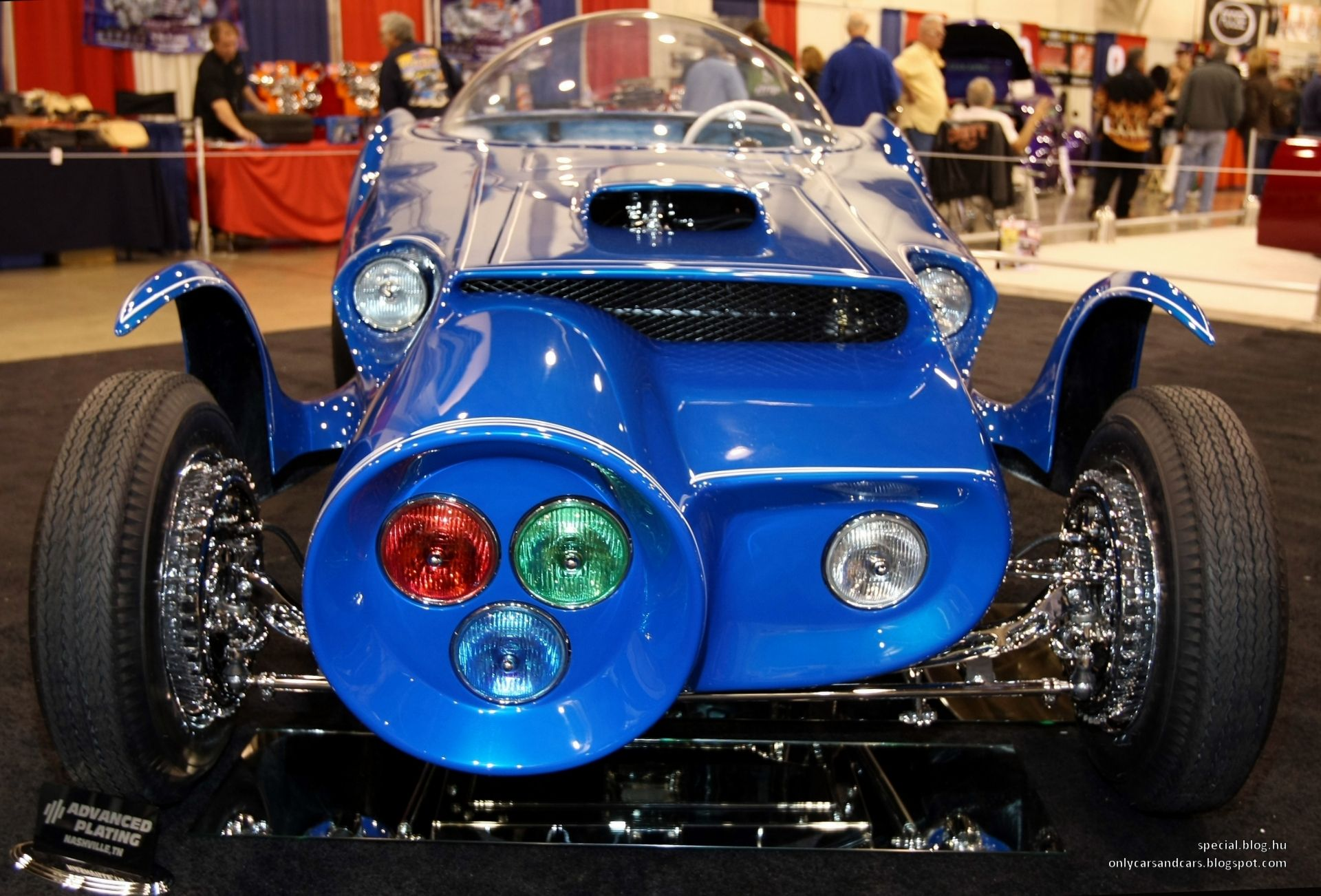 Orbitron by Ed Roth   Only cars and cars